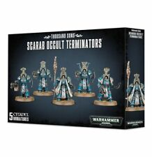 Warhammer 40000 Thousand Sons Scarab Occult Terminators
