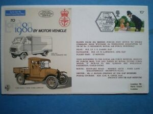 RAF COVER C69A LONDON 1980 BY MOTOR VEHICLE