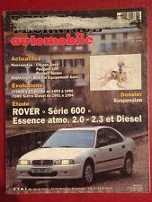 Revue Technique Automobile Rover Série 600 Essence atmo 2.0 - 2.3 et Diesel