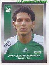 041 JUAN DOMINGUEZ DEPORTIVO CALI STICKER PANINI COLOMBIA PRIMERA A 2008