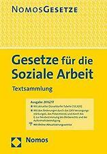 Gesetze für die Soziale Arbeit: Textsammlung, Recht... | Buch | Zustand sehr gut