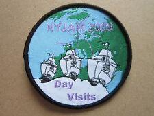 Nyjam 2009 Day Visits Cloth Patch Badge Boy Scouts Scouting L4K C