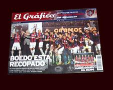 SAN LORENZO LIBERTADORES CHAMPION 2014 vs NACIONAL - EL GRAFICO MAGAZINE/POSTER