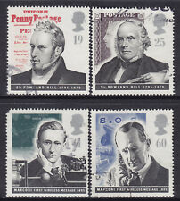 1995 GB Pioneers Of Communication SG 1887-1890 Set Of 4 Fine Used Stamps