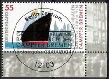BUND Nr.2412 Dampfer Bremen 2004 UER ESST, gestempelt
