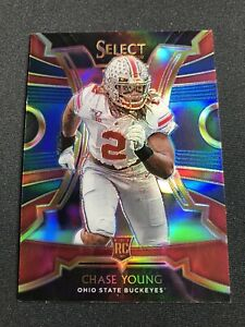 2020 Panini Chronicles DP Chase Young RC Select Silver Prizm