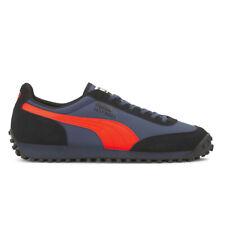 Puma Men's Fast Rider Source Dark Denim/Hot Coral Sneakers 37160103 NEW!