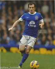 Everton Leighton Baines Autographed Signed 8x10 Photo COA A