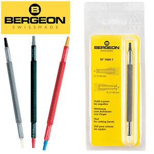 Bergeon 7404 Hand Setting Tools, Swiss Made - NEW!