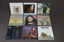 FABIENNE THIBEAULT 9 LP VINYL ALBUMS LOT COLLECTION Les Chants Aimes 1&2/Profil+