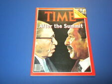 TIME MAGAZINE September 25,1978 AFTER THE SUMMIT CUT TAXES high grade NO LABEL