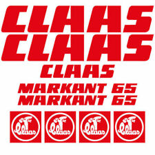 Claas MARKANT 65 square baler decal aufkleber adesivo sticker set