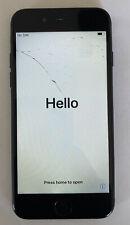 Apple iPhone 7 - 128GB - Black (Unlocked) A1778 (GSM) (CA) cracked screen