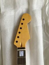 New Top grade electric guitar parts Guitar Neck 04102  white block inlay