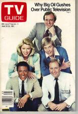 John Barbour Real People Tv Guide Cargador 6/20/81 Taylor Miller Toda la My