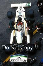 Alan Jones Williams FW06 F1 Season 1978 Photograph 1