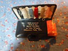 Vintage The Chalet Dick & Dot on Lake Wissota Chippewa Falls Wis Sewing Kit