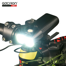 GACIRON USB Rechargeable Cycling Front Head Light 1600 Lumen LED Flashlight