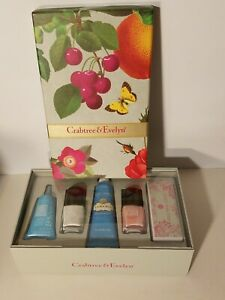 Crabtree Evelyn La Source Beauty Gift Set Lotion Gel Hand Cream Nail Lacquer NEW