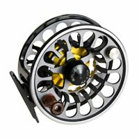 Bauer RX 4 Fly Reel - Black w/Charcoal Spool - NEW - FREE FLY LINE