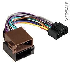 Adapter Kabel für JVC Auto Radio DIN ISO Stecker 16 Pin Kabelbaum KFZ #2