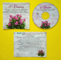 CD Compilation 15 CLASSICS bach liszt haydn mozart beethoven bizet no lp mc dvd