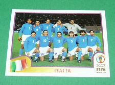 N°457 EQUIPE TEAM ITALIA ITALY PANINI FOOTBALL JAPAN KOREA 2002 COUPE MONDE FIFA
