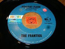 THE FRANTICS - STRAIGHT FLUSH - YOUNG BLUES  / LISTEN - SURF TITTYSHAKER POPCORN