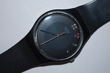 1985 Vintage Swatch Watch GB-106 SIR LIMELIGHT Christmas Special Swiss Quartz