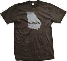 Native Georgia State Pride Peach State Atlanta Empire State South Mens T-shirt