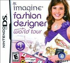 Imagine: Fashion Designer World Tour Nds GAME NEW