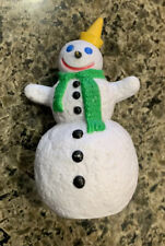 Vintage Snowman Jack In The Box Christmas Ornament JITB Toy