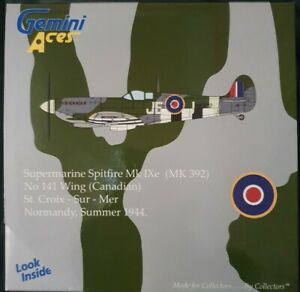 Gemini Aces Supermarine Spitfire Mk IXe No 141 Wing (Canadian) 1944 GARAF1001
