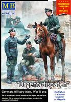 Master Box 35212 - 1/35 - Urgent Dispatch. German Military Men, WW II era