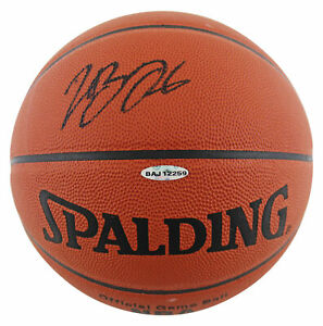 Lakers LeBron James Authentic Signed Official NBA Game Basketball UDA #BAJ12259