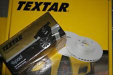 Textar Brake Discs and Epad- Brake Pads + Wkt BMW 1er E81,E87 3er E90, E91 Rear