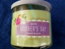 Bath and Body Works 2015 Mother's Day First Bloom 3-wick 14.5oz Candle