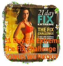 21 Day Fix EXTREME The Fix Challenge NEW Sealed DVD Autumn Calabrese Beachbody