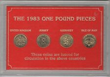 More details for the 1983 one pound pieces cased coin collection | coin sets | pennies2pounds