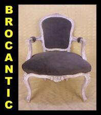 FAUTEUIL CABRIOLET LOUIS XV / ROCAILLE ★BROCANTIC★ANTIQUITÉS/BROCANTE/OCCASION