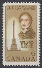CANADA #501 6¢ Sir Isaac Brock Mint Never Hinged