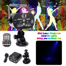 Laser 60 Patterns RGB LED Projector Home Party KTV Disco USB DJ Stage Light Club