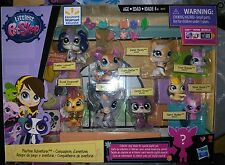 Hasbro Littlest Pet Shop Playtime Adventures - 18 Piece Set - Brand New