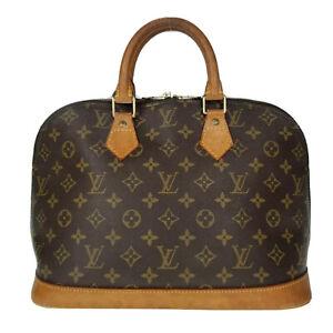 Louis Vuitton LV Monogram Alma PM M51130 Handbag Used 7-24-F49
