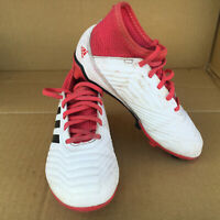 Adidas Predator 18.3 FG J Kids Red And White Size 12C Football / Soccer Boots