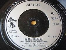 """JUDY STONE - HASTA MANANA    7"""" VINYL"""