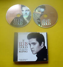 """2 CDs """" ELVIS PRESLEY - ELVIS GOLD """" BEST OF / 40 HITS (JAILHOUSE ROCK)"""