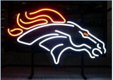 """New DENVER BRONCOS Bar Beer Man Cave Neon Light Sign 20""""x16"""""""