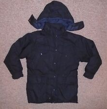 EDDIE BAUER Black Warm Winter GOOSE DOWN JACKET Ski Coat Size Women's MEDIUM