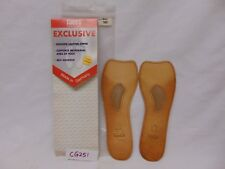 NEW TACCO FOOTCARE INSOLES SHOE INSERTS EXCLUSIVE WOMENS SZ 10 LEATHER-GERMANY